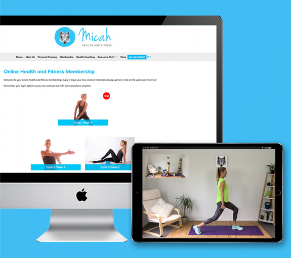 White Wolf – Micah Health and Fitness Membership