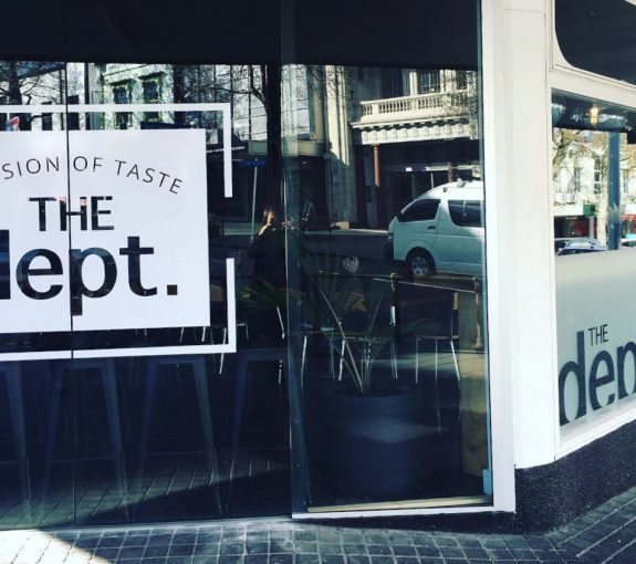 Cafe new plymouth branding